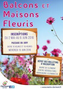 Concours des Balcons et Maisons Fleuris